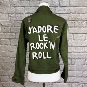 Forever 21 J'Adore le Rock'n Roll Jacket